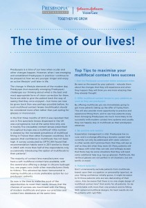 2283 Presbyopia 'Time of Our Lives' article