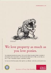 Stutt & Parker Single Page Ad